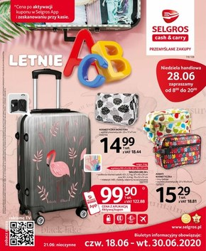 Letnie ABC - Selgros Cash&Carry