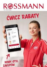 Gazetka promocyjna Rossmann - Ćwicz rabaty w Rossmannie! - ważna do 30-06-2020