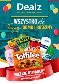 Gazetka promocyjna Dealz - Wielkie otwarcie Dealz - Rawa Mazowiecka - ważna do 19-06-2020
