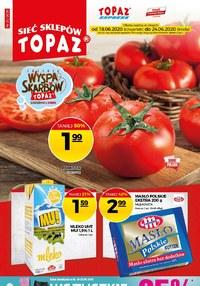 Gazetka promocyjna Topaz - Oferta na nowy tydzień w Topaz! - ważna do 24-06-2020
