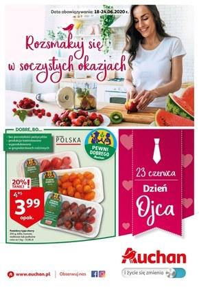 Rozsmakuj się w soczystych okazjach z Auchan