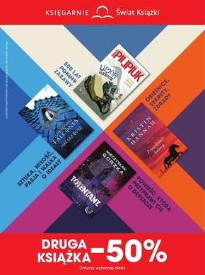 Księgarnie Świat Książki - najnowsze promocje