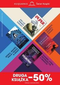 Gazetka promocyjna Księgarnie Świat Książki - Księgarnie Świat Książki - najnowsze promocje - ważna do 14-07-2020