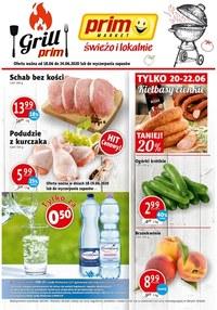 Gazetka promocyjna Prim Market - Grilluj z Prim Market!  - ważna do 24-06-2020