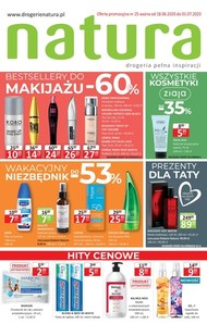 Promocje do 60% w Drogerie Natura!