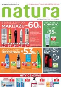 Gazetka promocyjna Drogerie Natura - Promocje do 60% w Drogerie Natura!  - ważna do 01-07-2020