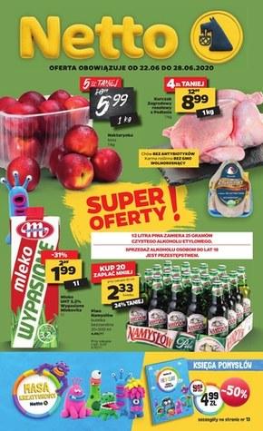 Spożywcza oferta Netto - tylko najlepsze promocje!