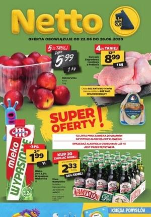 Gazetka promocyjna Netto - Spożywcza oferta Netto - tylko najlepsze promocje!