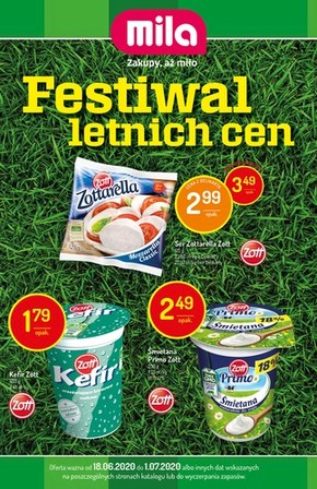 Festiwal letnich cen w Mila