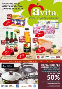 Gazetka promocyjna Avita - Oferta handlowa Avita - ważna do 27-06-2020