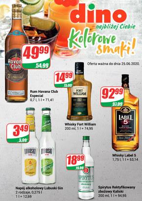 Katalog alkoholowy w Dino