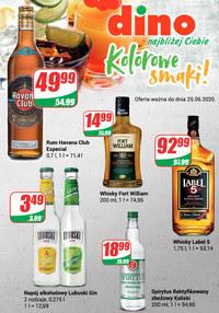 Gazetka promocyjna Dino - Katalog alkoholowy w Dino - ważna do 25-06-2020