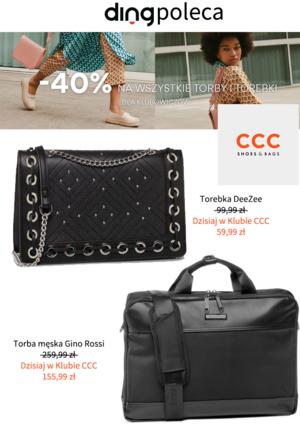 Gazetka promocyjna CCC - Chwytaj okazje w CCC