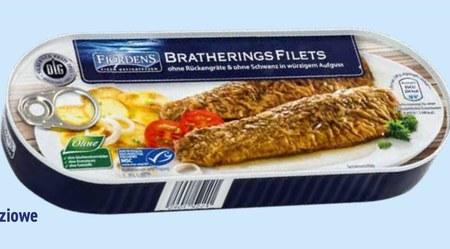 Filety śledziowe Fjörden's