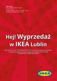 Gazetka promocyjna IKEA - Wyprzedaż w IKEA Lublin!  - ważna do 04-07-2020