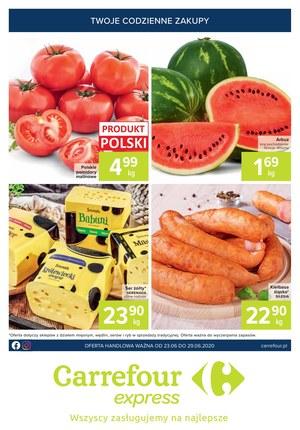 Gazetka promocyjna Carrefour Express - Udane zakupy w Carrefour Express
