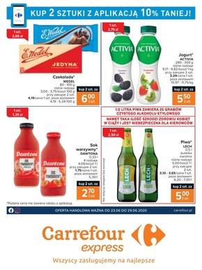 Kupuj z aplikacją w Carrefour Express
