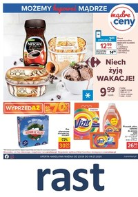 Gazetka promocyjna Rast - Udane wakacje z Rast! - ważna do 04-07-2020