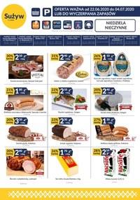 Gazetka promocyjna Sużyw - Market rodzinny w Sużyw - ważna do 04-07-2020