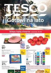 Gazetka promocyjna Tesco Centra Handlowe - Tesco gotowe na lato!  - ważna do 01-07-2020