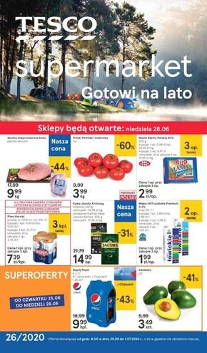 Tesco Supermarket gotowe na lato!