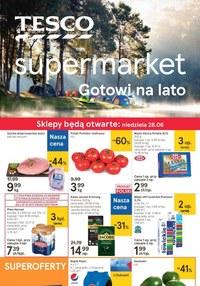 Gazetka promocyjna Tesco Supermarket - Tesco Supermarket gotowe na lato! - ważna do 01-07-2020