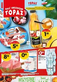 Gazetka promocyjna Topaz - Promocje w sklepach Topaz  - ważna do 01-07-2020