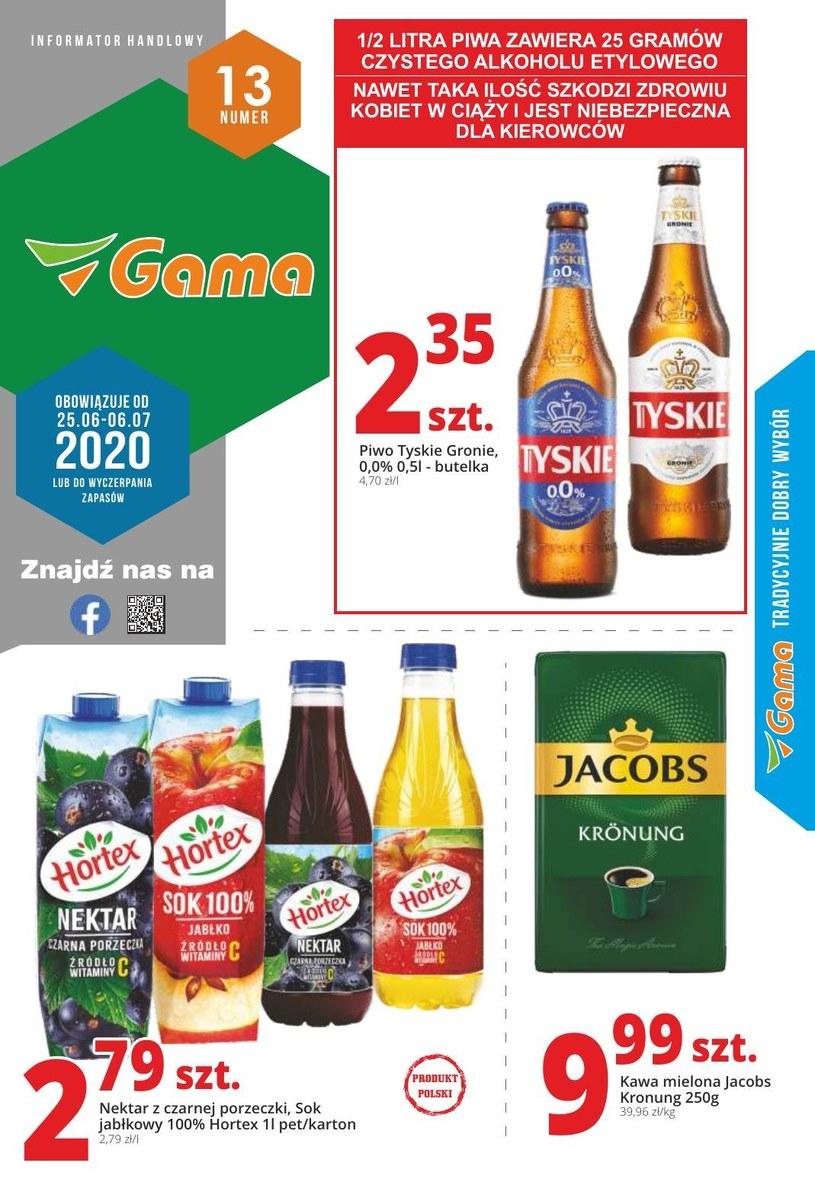 Gazetka promocyjna Gama - ważna od 25. 06. 2020 do 06. 07. 2020