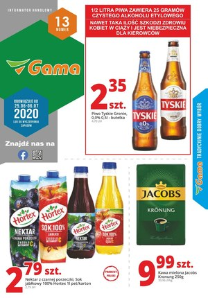 Gazetka promocyjna Gama - Promocje w Gama