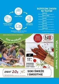 Gazetka promocyjna bi1 - Czas na piknik z Bi1! - ważna do 30-06-2020