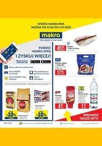 Gazetka promocyjna Makro Cash&Carry - Oferta spożywcza w Makro - ważna do 06-07-2020