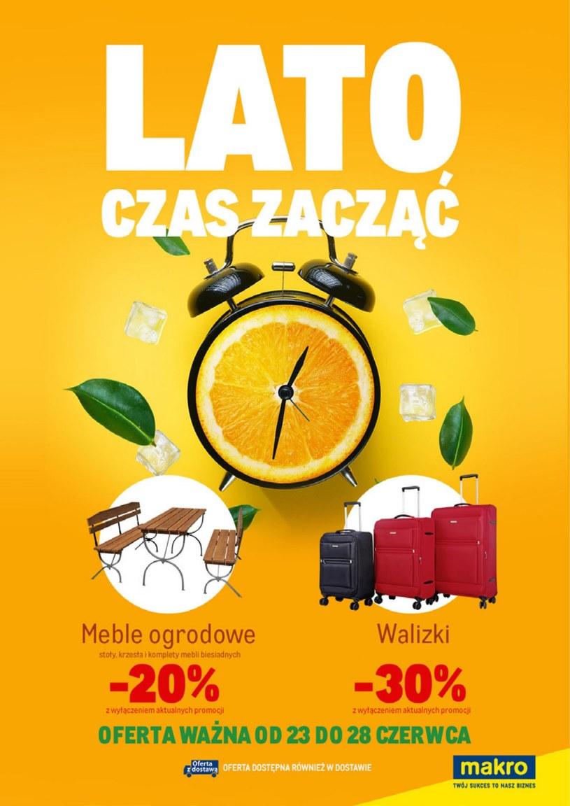 Gazetka promocyjna Makro Cash&Carry - ważna od 23. 06. 2020 do 06. 07. 2020