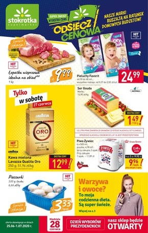 Promocje w Stokrotka Supermarket