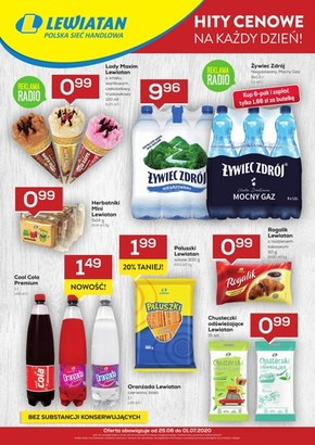Super ceny w sklepach Lewiatan!
