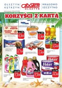 Gazetka promocyjna Społem Olsztyn - Super promocje w Społem Olsztyn - ważna do 06-07-2020