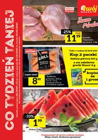 Gazetka promocyjna Twój Market - Co tydzień taniej w Twój Market - ważna do 30-06-2020