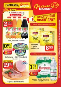 Gazetka promocyjna Gram Market - Gram Market - oferta handlowa - ważna do 30-06-2020