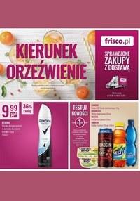 Gazetka promocyjna Frisco - Orzeźwienie z Frisco!