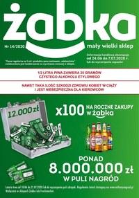 Gazetka promocyjna Żabka - Wygrywaj z Żabką!  - ważna do 07-07-2020