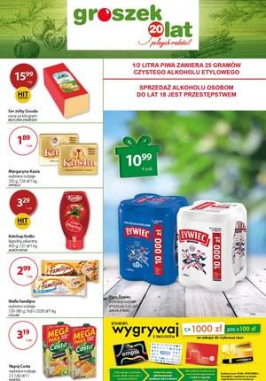 Gazetka promocyjna Groszek  - Promocje w sklepach Groszek