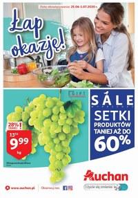 Gazetka promocyjna Auchan Hipermarket - Łap okazje w Auchan! - ważna do 01-07-2020