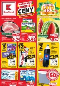 Gazetka promocyjna Kaufland - Kaufland - Na dobry tydzień - ważna do 01-07-2020