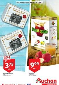 Gazetka promocyjna Auchan Hipermarket - Promocje w Auchan Hipermarket - ważna do 01-07-2020