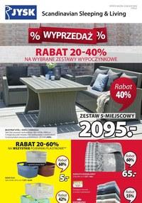 Gazetka promocyjna Jysk - Wyprzedaż w Jysk - ważna do 08-07-2020