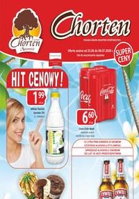Gazetka promocyjna Chorten - Hity cenowe w Chorten!  - ważna do 08-07-2020