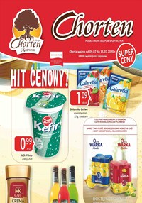 Gazetka promocyjna Chorten - Plakat promocyjny Chorten!  - ważna do 15-07-2020