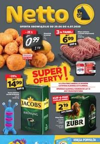 Gazetka promocyjna Netto - Oferta spożywcza w Netto! - ważna do 04-07-2020