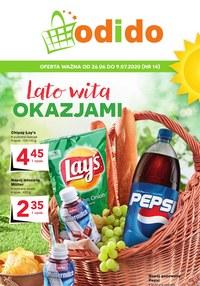 Gazetka promocyjna Odido - Lato wita okazjami w Odido - ważna do 09-07-2020
