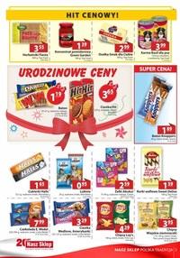 Gazetka promocyjna Nasz Sklep - Urodzinowe ceny w Nasz Sklep