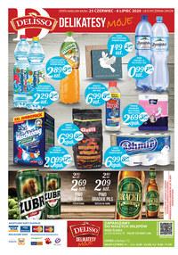 Gazetka promocyjna Delisso - Promocje w sklepach Delisso